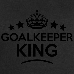 goalkeeper king keep calm style crown st T-SHIRT - Men's Sweatshirt by Stanley & Stella