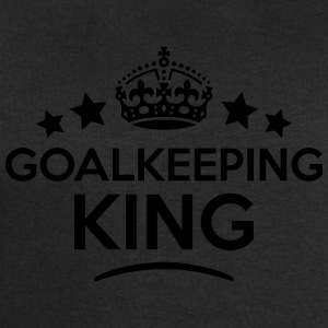 goalkeeping king keep calm style crown s T-SHIRT - Men's Sweatshirt by Stanley & Stella