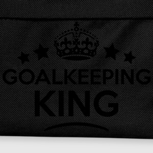 goalkeeping king keep calm style crown s T-SHIRT - Kids' Backpack