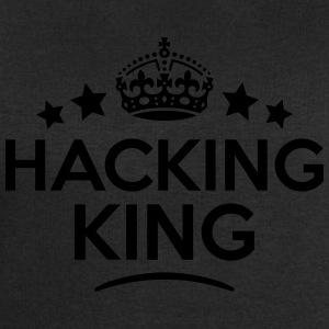 hacking king keep calm style crown stars T-SHIRT - Men's Sweatshirt by Stanley & Stella