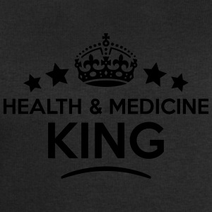health  medicine king keep calm style cr T-SHIRT - Men's Sweatshirt by Stanley & Stella