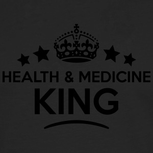 health  medicine king keep calm style cr T-SHIRT - Men's Premium Longsleeve Shirt