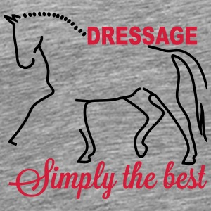 Dressage - simply the best Other - Men's Premium T-Shirt