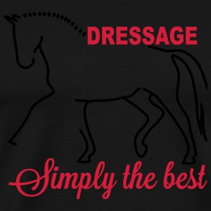 Dressage - simply the best Long Sleeve Shirts - Men's Premium T-Shirt