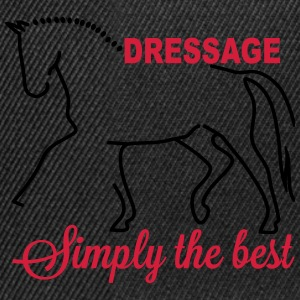 Dressage - simply the best Manga larga - Gorra Snapback