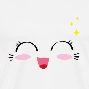 Kawaii Happy 2 - Männer Premium T-Shirt