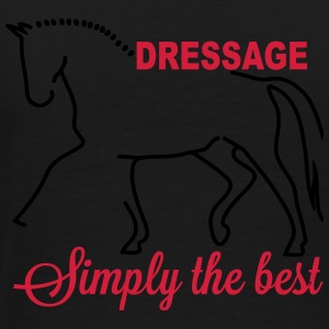 Dressage - simply the best Sudaderas - Camiseta premium hombre