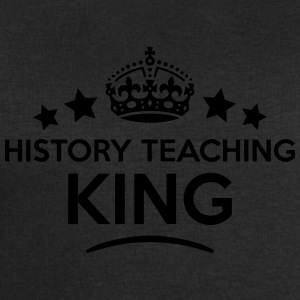 history teaching king keep calm style cr T-SHIRT - Men's Sweatshirt by Stanley & Stella