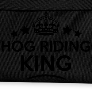 hog riding king keep calm style crown st T-SHIRT - Kids' Backpack