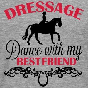 Dressage  Dance with my best friend T-Shirts - Männer Premium Langarmshirt