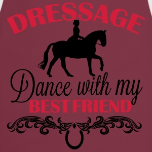 Dressage  Dance with my best friend Polo Shirts - Cooking Apron