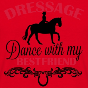 Dressage  Dance with my best friend Mugs & Drinkware - Men's T-Shirt