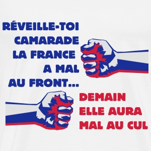 Front  National  France Démocratie - T-shirt Premium Homme