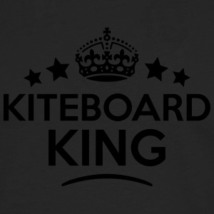 kiteboard king keep calm style crown sta T-SHIRT - Men's Premium Longsleeve Shirt