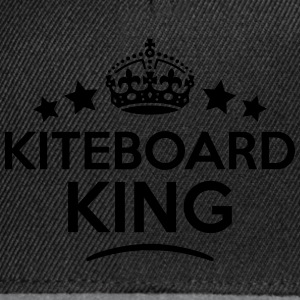 kiteboard king keep calm style crown sta T-SHIRT - Snapback Cap