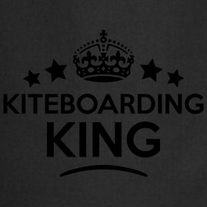 kiteboarding king keep calm style crown  T-SHIRT - Cooking Apron