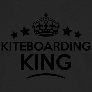 kiteboarding king keep calm style crown  T-SHIRT - Men's Premium Longsleeve Shirt
