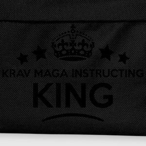 krav maga instructing king keep calm sty T-SHIRT - Kids' Backpack