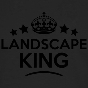 landscape king keep calm style crown sta T-SHIRT - Men's Premium Longsleeve Shirt