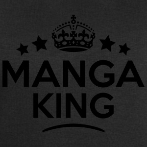 manga king keep calm style crown stars T-SHIRT - Men's Sweatshirt by Stanley & Stella