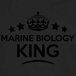 marine biology king keep calm style crow T-SHIRT - Men's Premium Longsleeve Shirt