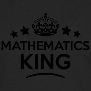 mathematics king keep calm style crown s T-SHIRT - Men's Premium Longsleeve Shirt