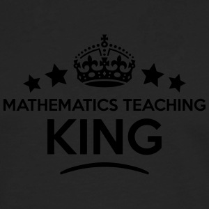 mathematics teaching king keep calm styl T-SHIRT - Men's Premium Longsleeve Shirt