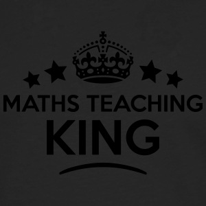maths teaching king keep calm style crow T-SHIRT - Men's Premium Longsleeve Shirt