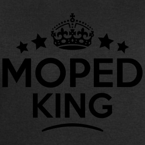 moped king keep calm style crown stars T-SHIRT - Men's Sweatshirt by Stanley & Stella