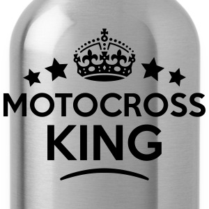 motocross king keep calm style crown sta T-SHIRT - Water Bottle