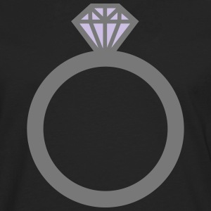 Diamond ring T-Shirts - Men's Premium Longsleeve Shirt