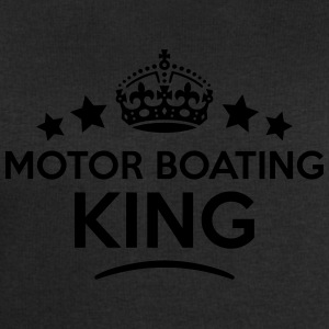motor boating king keep calm style crown T-SHIRT - Men's Sweatshirt by Stanley & Stella