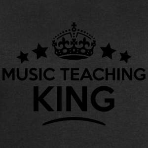 music teaching king keep calm style crow T-SHIRT - Men's Sweatshirt by Stanley & Stella