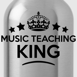music teaching king keep calm style crow T-SHIRT - Water Bottle