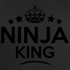 ninja king keep calm style crown stars T-SHIRT - Men's Sweatshirt by Stanley & Stella