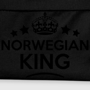 norwegian king keep calm style crown sta T-SHIRT - Kids' Backpack