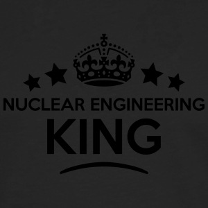 nuclear engineering king keep calm style T-SHIRT - Men's Premium Longsleeve Shirt