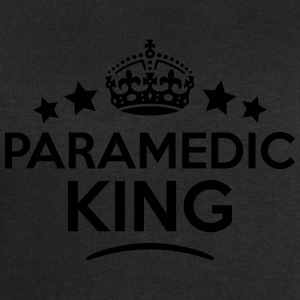paramedic king keep calm style crown sta T-SHIRT - Men's Sweatshirt by Stanley & Stella