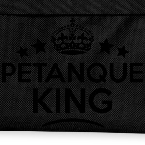 petanque king keep calm style crown star T-SHIRT - Kids' Backpack