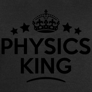 physics king keep calm style crown stars T-SHIRT - Men's Sweatshirt by Stanley & Stella