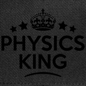 physics king keep calm style crown stars T-SHIRT - Snapback Cap
