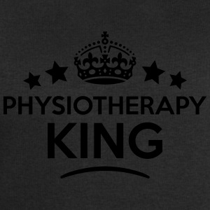 physiotherapy king keep calm style crown T-SHIRT - Men's Sweatshirt by Stanley & Stella