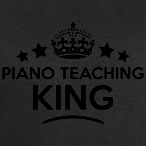 piano teaching king keep calm style crow T-SHIRT - Men's Sweatshirt by Stanley & Stella