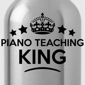 piano teaching king keep calm style crow T-SHIRT - Water Bottle