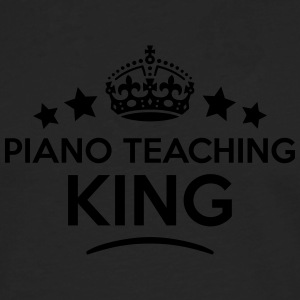 piano teaching king keep calm style crow T-SHIRT - Men's Premium Longsleeve Shirt