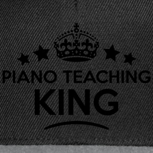 piano teaching king keep calm style crow T-SHIRT - Snapback Cap