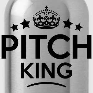 pitch king keep calm style crown stars T-SHIRT - Water Bottle