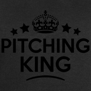 pitching king keep calm style crown star T-SHIRT - Men's Sweatshirt by Stanley & Stella