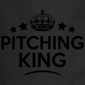 pitching king keep calm style crown star T-SHIRT - Cooking Apron