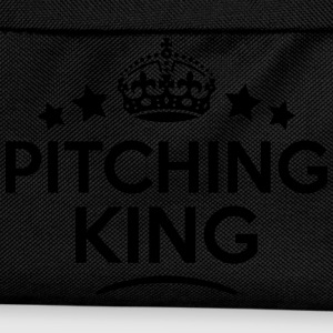 pitching king keep calm style crown star T-SHIRT - Kids' Backpack